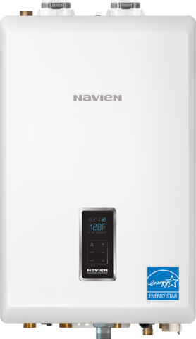 NAVIEN NCB-210E COMBI NAT GAS 180,000 BTU CONDENSING COMBI BOILER / WATER HEATER, NAT GAS, LP CONVERSION INCLUDED MC356285