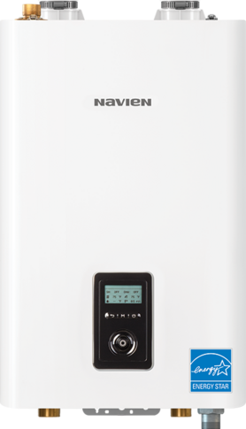 NAVIEN NFB-200 HIGH EFFICIENCY CONDENSING HEATING BOILER 95% AFUE MC389373