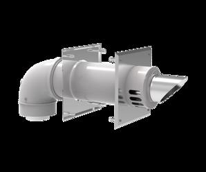 NaviVent™ Sidewall termination kit