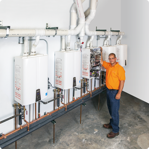 water heaters | commercial | navien