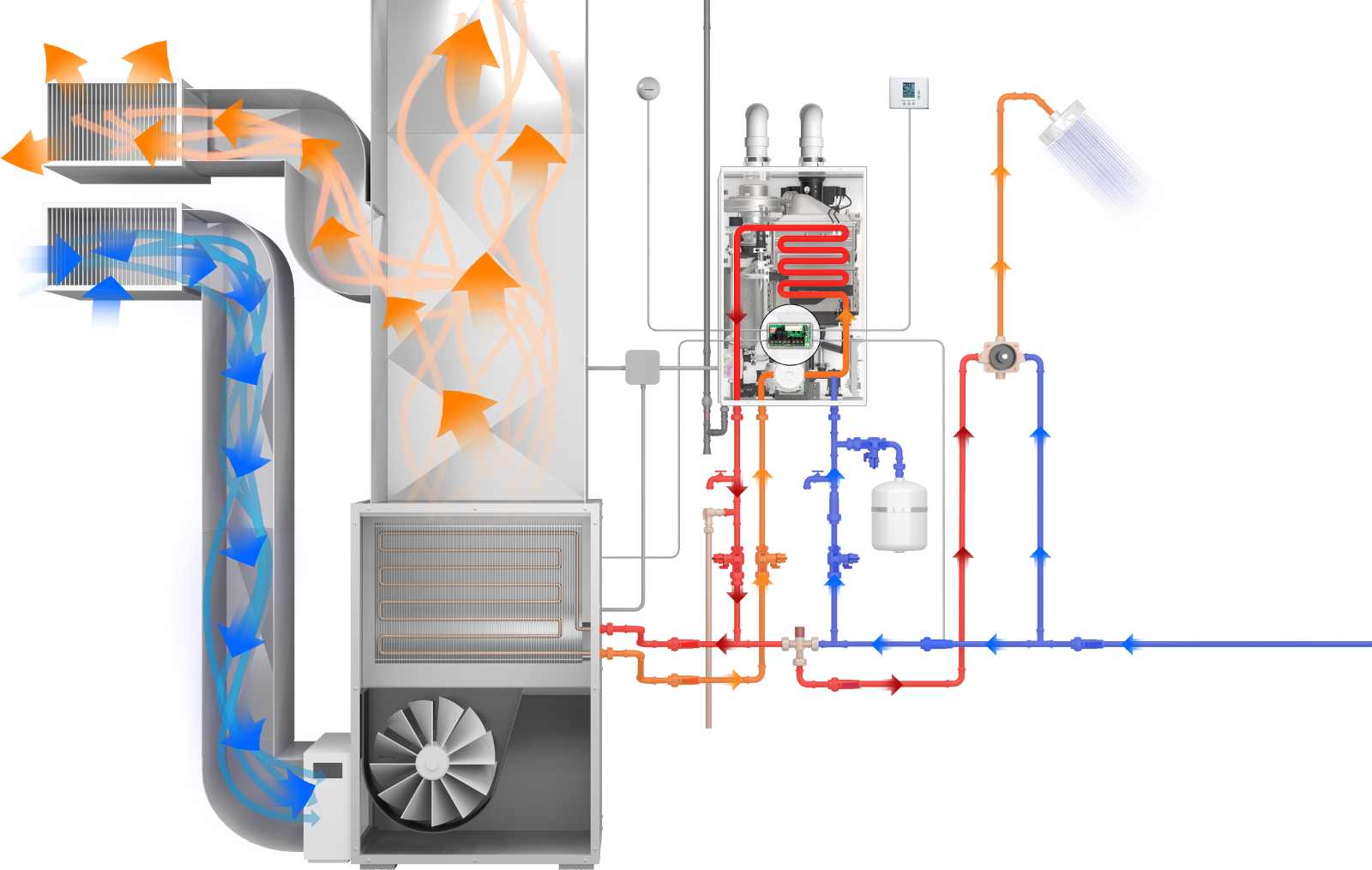 navien piping diagram npe a series tankless water heater series navien  npe a series tankless water heater