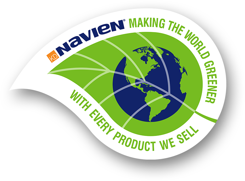 Navien tankless water heaters make the world greener