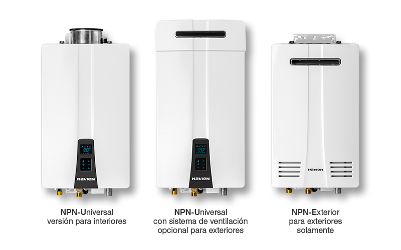NPN series tankless water heaters