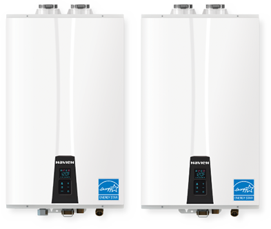 Navien NPE tankless water heaters